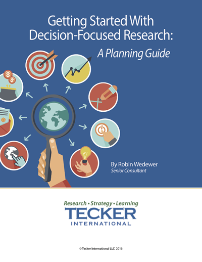Decision-Focused Research Planning Guide